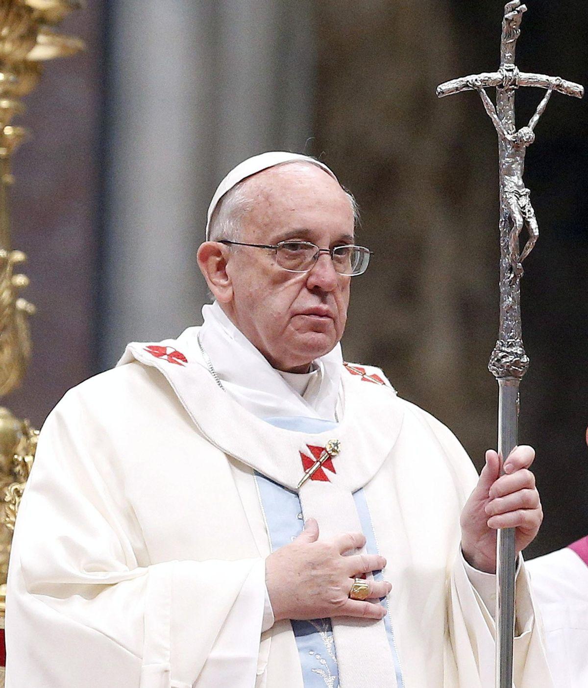El Papa celebra la misa de la Jornada Mundial de la Paz