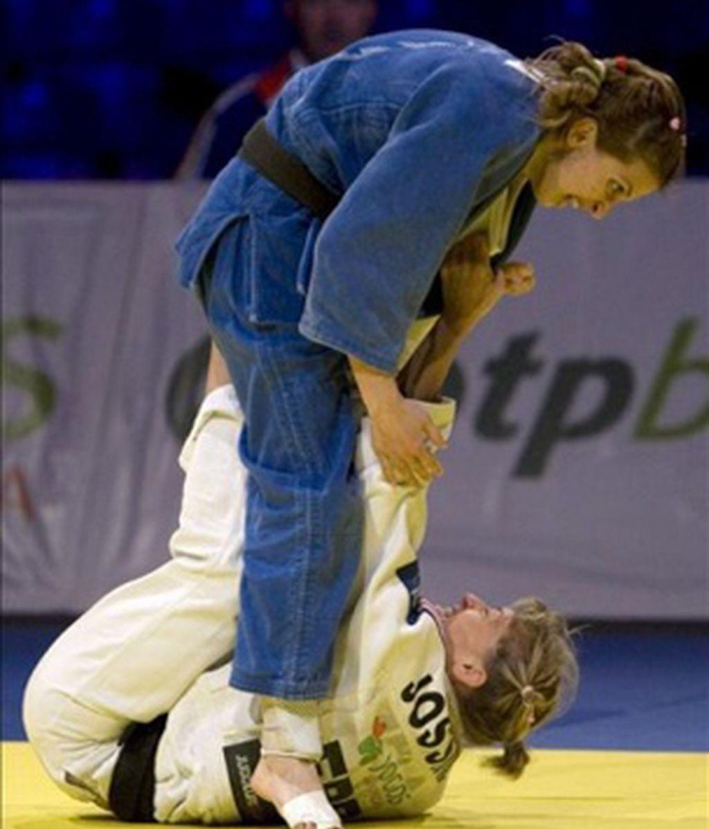 La rumana Dumitru, oro en -48kg tras ganar a la cubana Bermoy