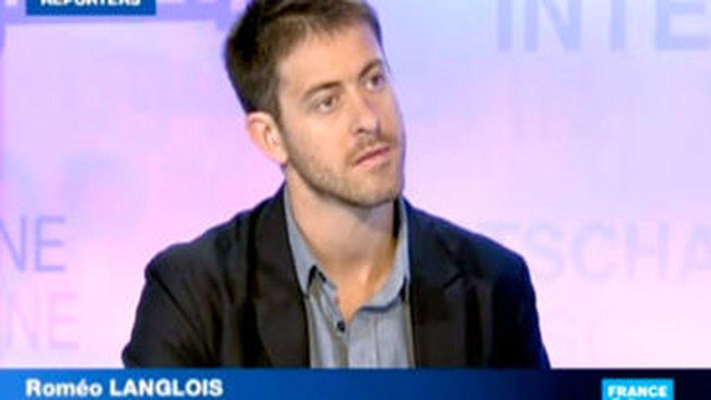 El periodista francés Roméo Langlois