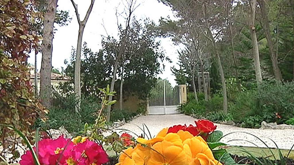 Entrada del jardín Pedreguer