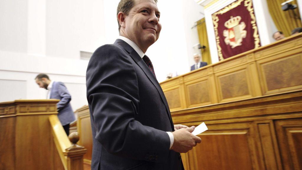 García-Page dice que aplicará el programa del PSOE-Podemos en Castilla-La Mancha