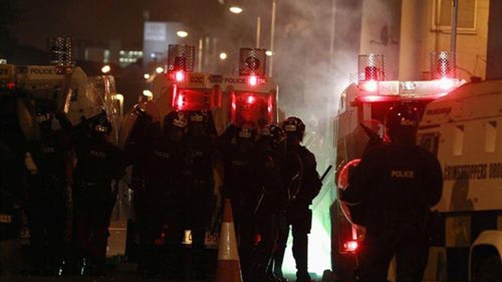 Nuevos disturbios en Belfast
