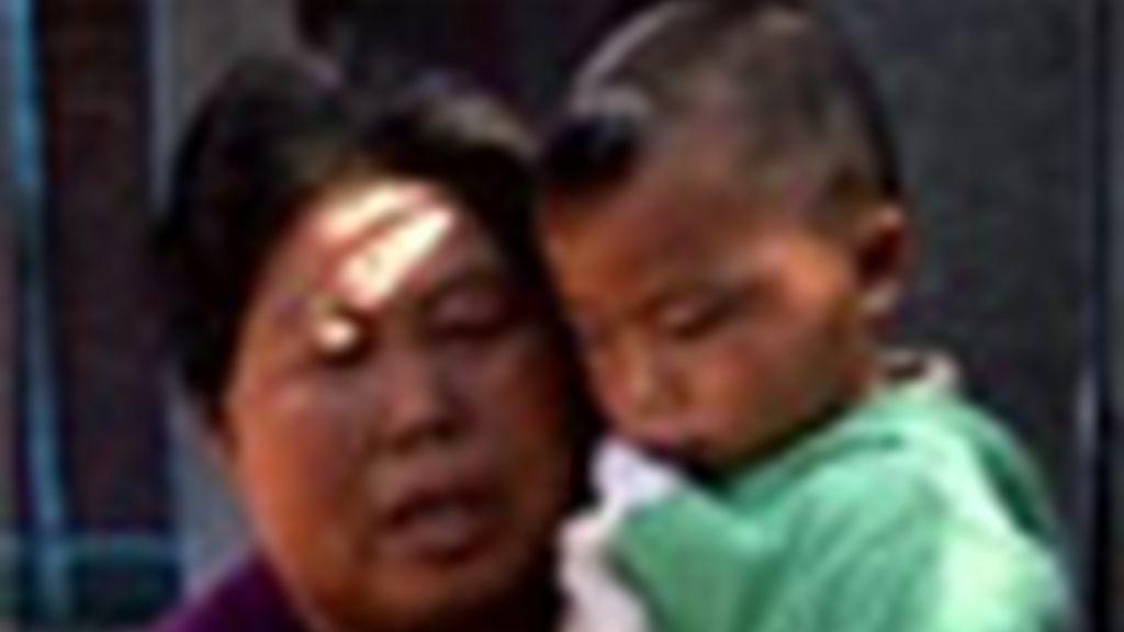 Leche contaminada en China