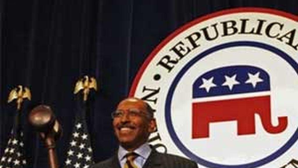 El nuevo presidente del Partido Republicano, Michael Steele. Foto: AP