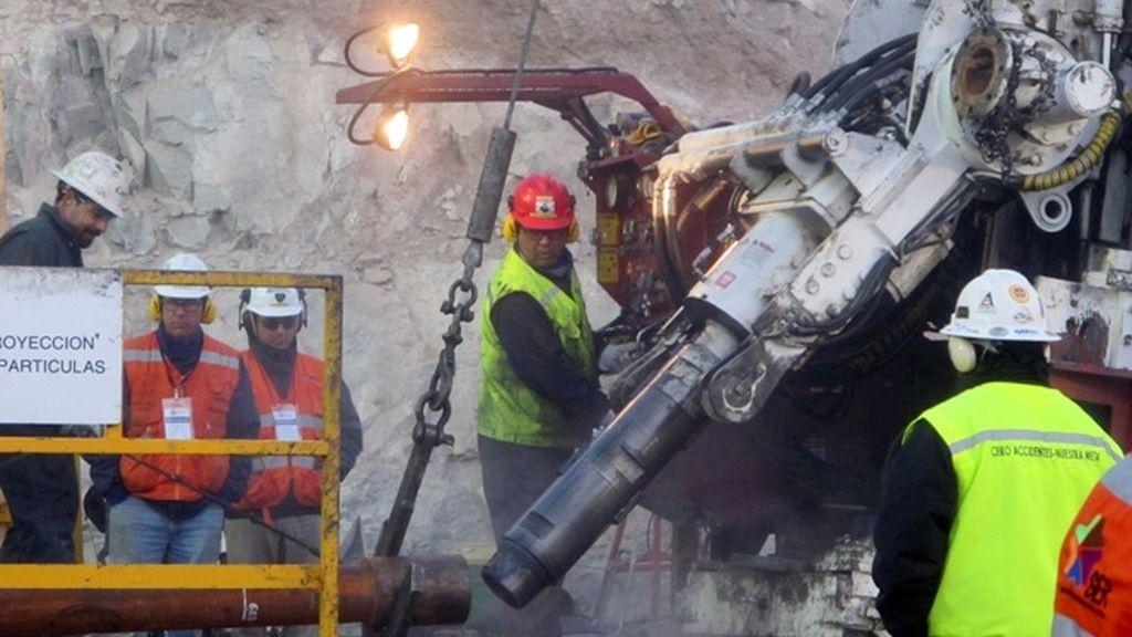 El rescate de los 33 mineros empezará el miércoles
