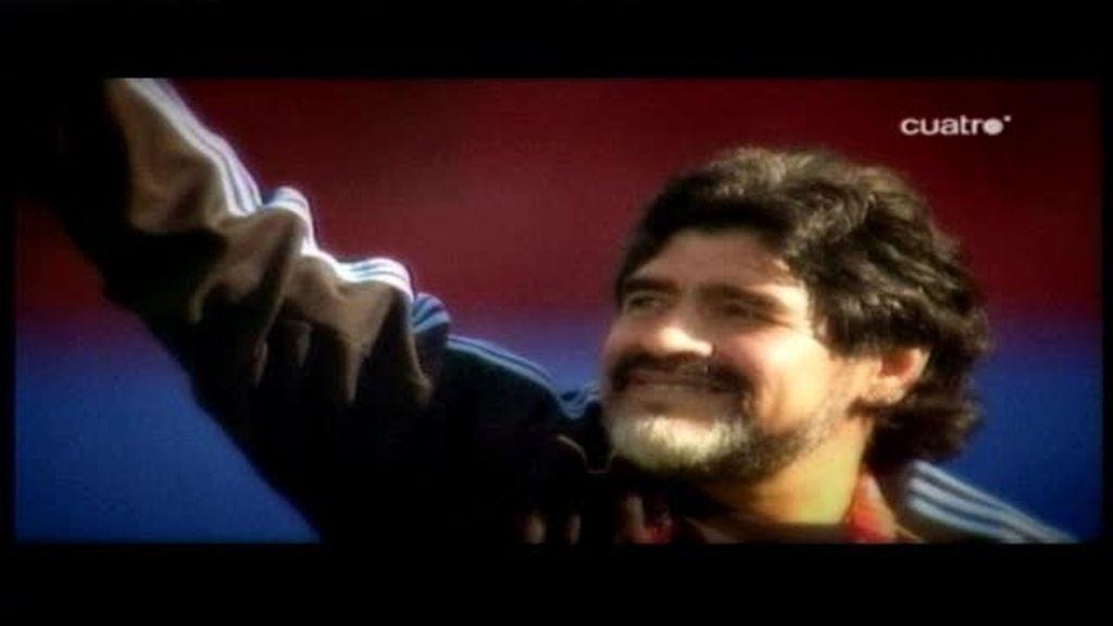 Maradona es espectáculo