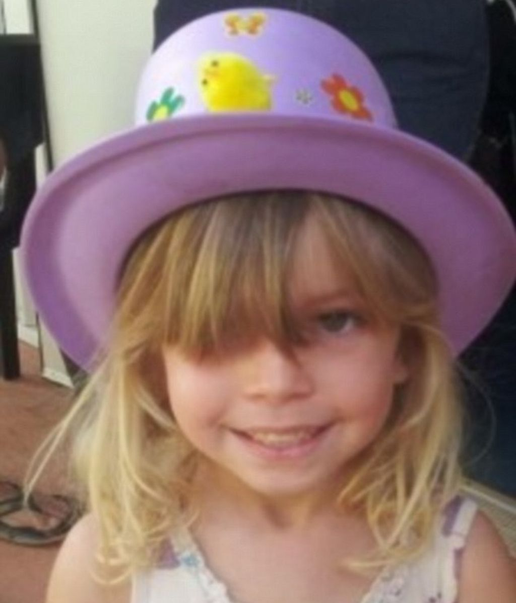 Chloe Campbell, desaparecida de su habitación con tres años