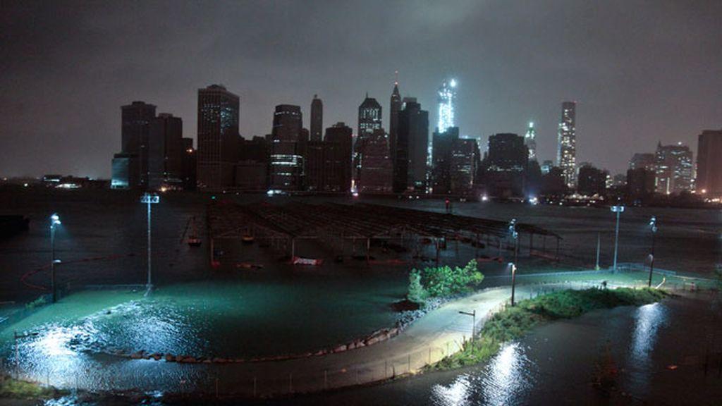 Los efectos de Sandy en Manhattan