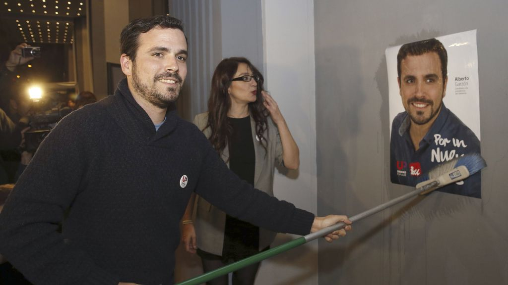 """Garzón pide el voto para promover """"un cambio real"""""""