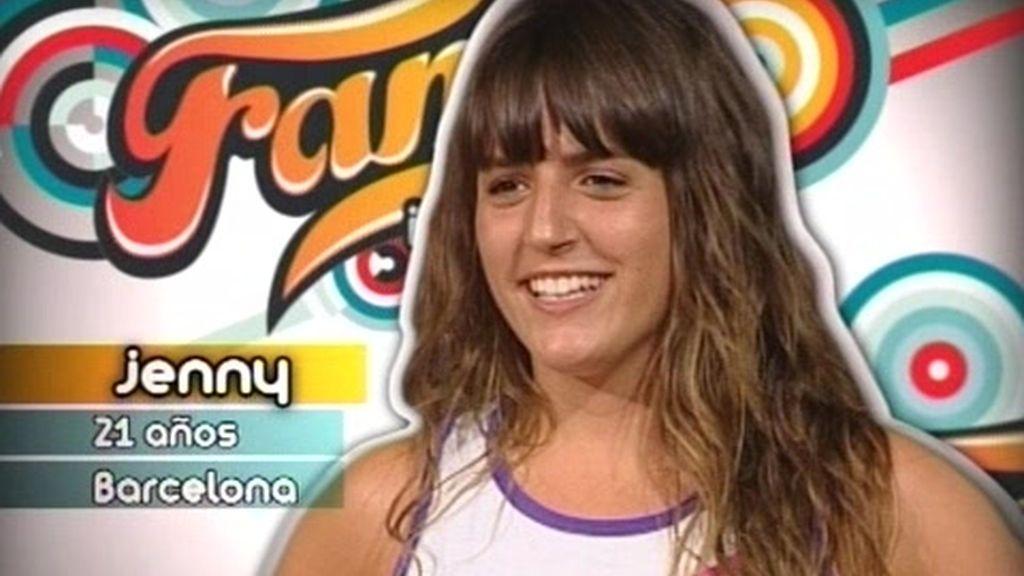 Jeny pasa el casting