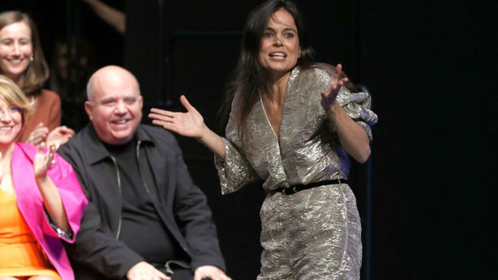 Una caída memorable que la actriz se tomó con mucho humor