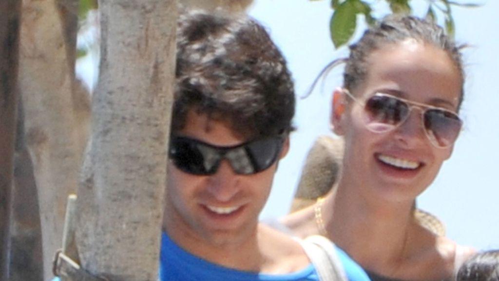 La pareja sonriente por Cádiz