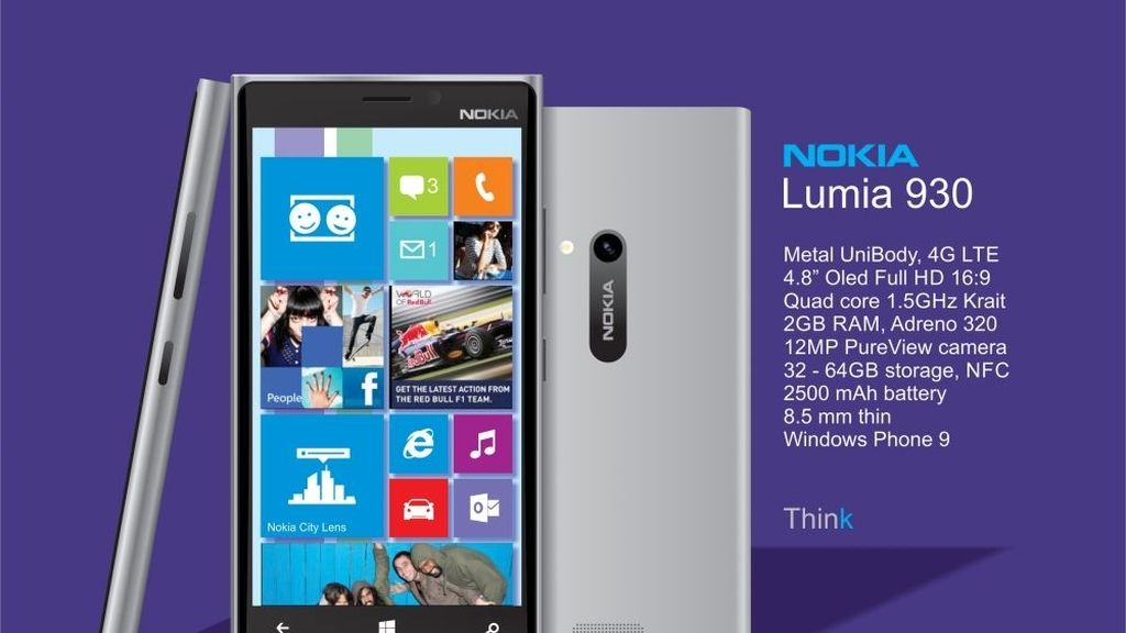 Nokia Lumia 930,Build 2014,Nokia,Microsoft