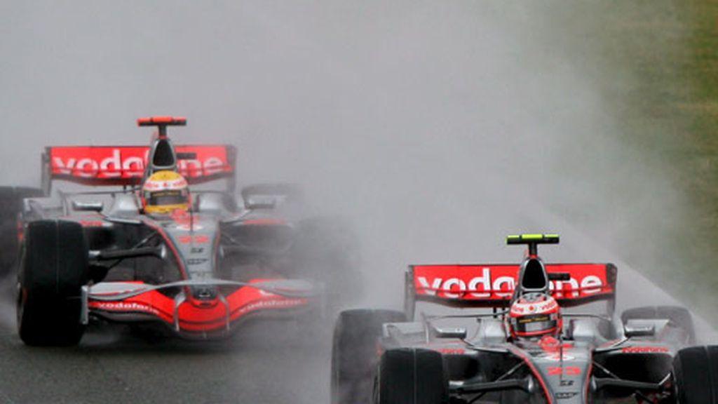 La salida de la carrera