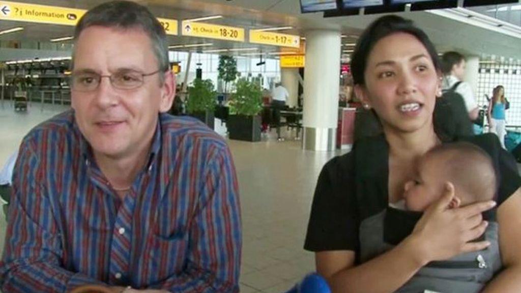 Familia británica se salva de morir en el vuelo de Malaysia Airlines