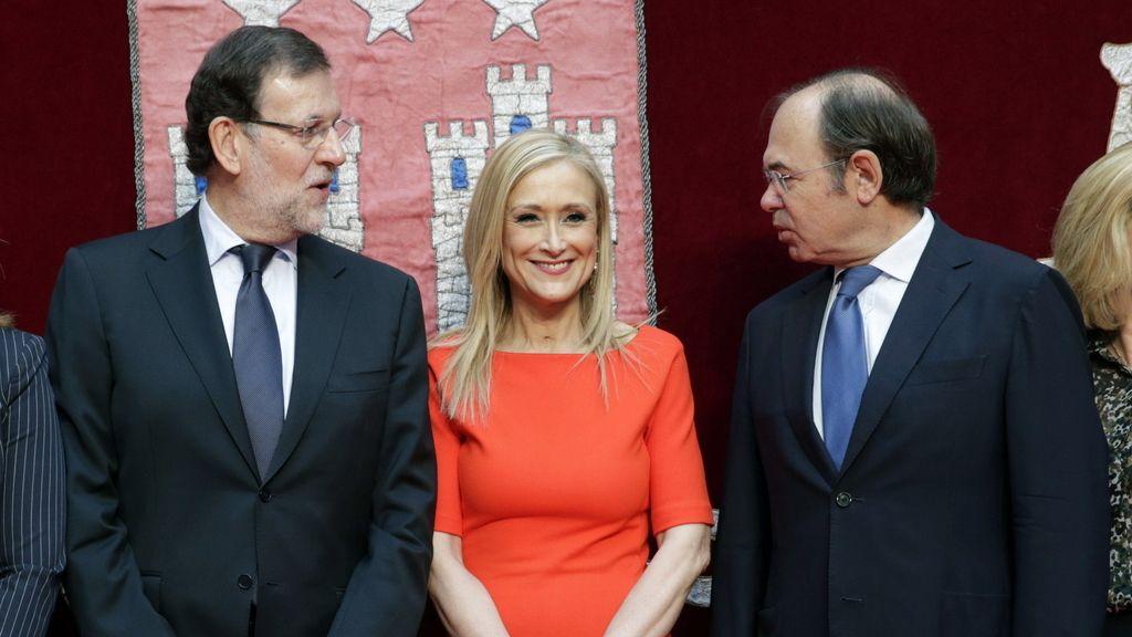 """Rajoy desea """"suerte"""" a Cifuentes y a su equipo y le recuerda que """"lo que ocurra en Madrid es muy importante para España"""""""