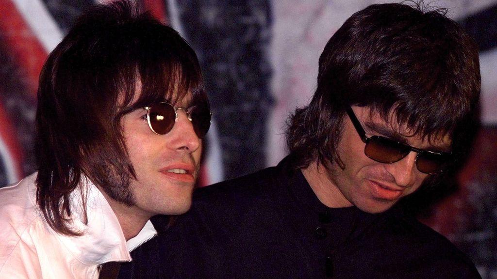 Noel Gallagher y su hermano Liam