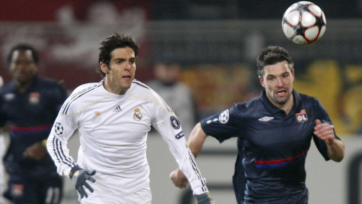 El Madrid no pudo con el Lyon