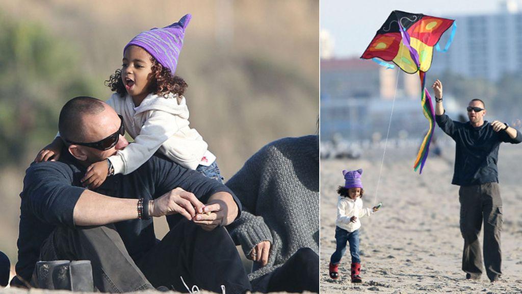 Martin Kristen, novio de Heidi Klum, se deshace en cariñosos gestos con los hijos de la modelo
