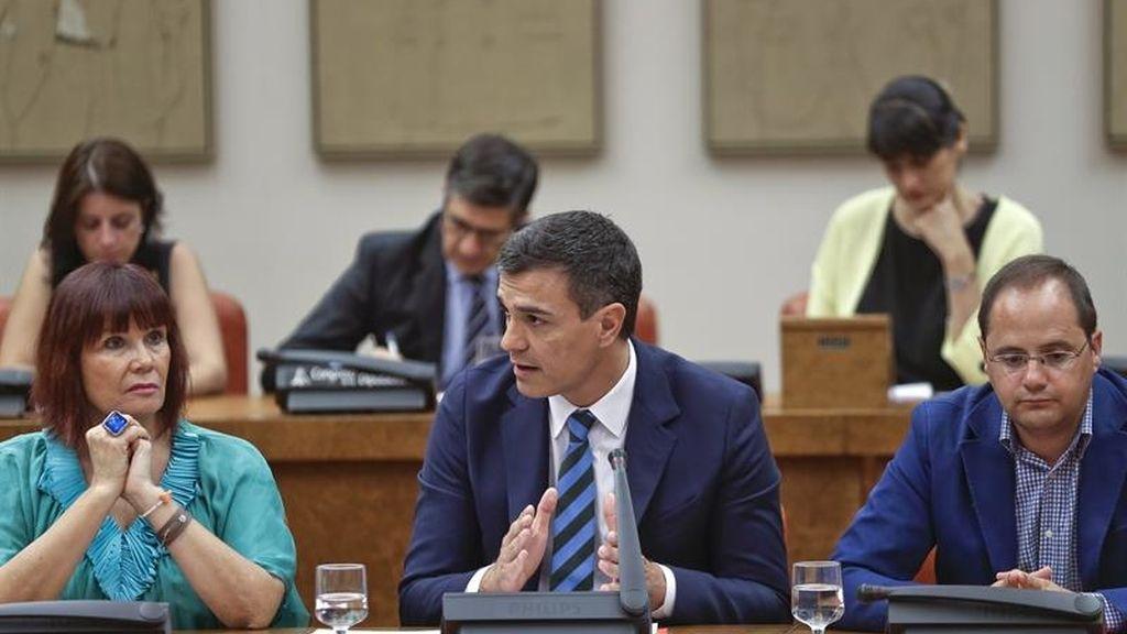 Sánchez reitera el 'no' del PSOE a la investidura
