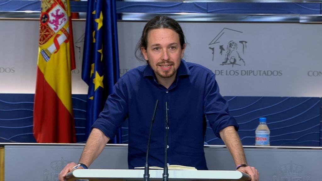 Pablo Iglesias comparece tras su reunión con Pedro Sánchez