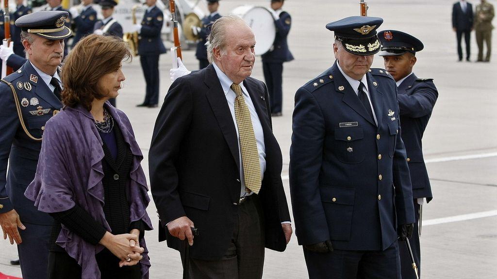 El Rey Juan Carlos en Colombia
