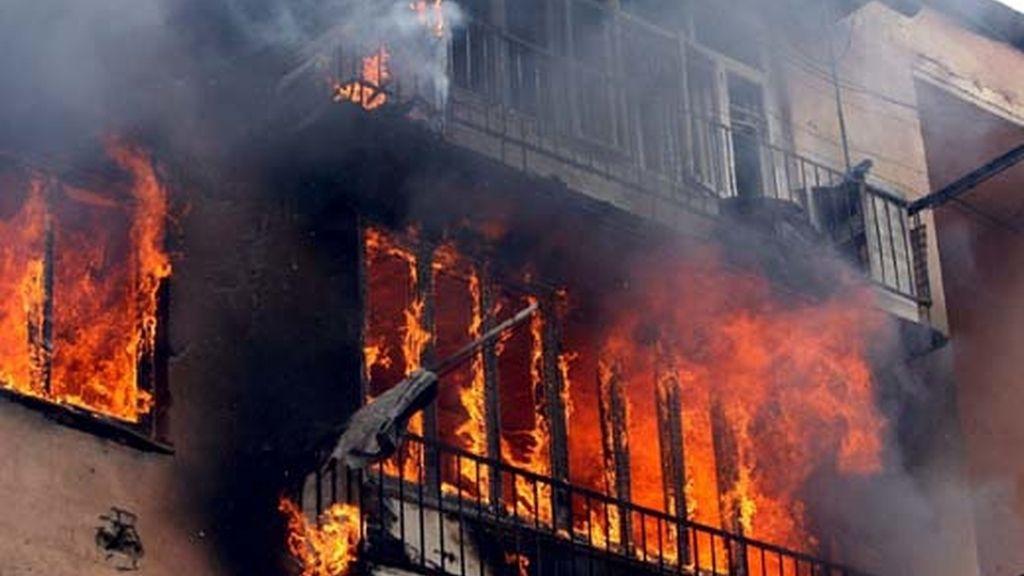 La localidad de Gori ha quedado destruida