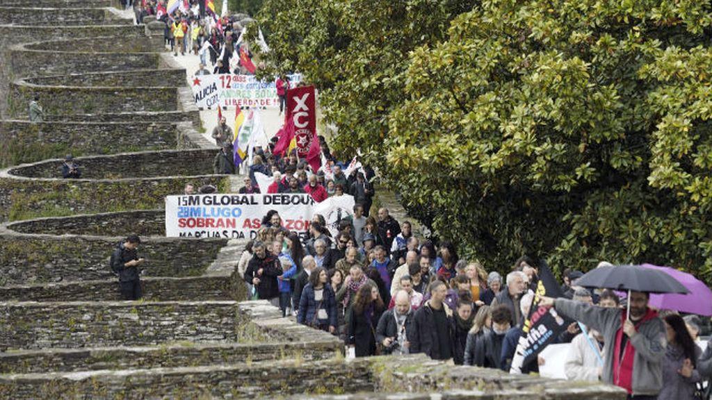 Marcha de la dignidad, Lugo