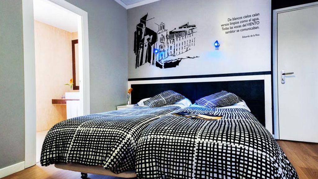 hotel LB Villa de Cuenca, hotel, habitación hotel, cama