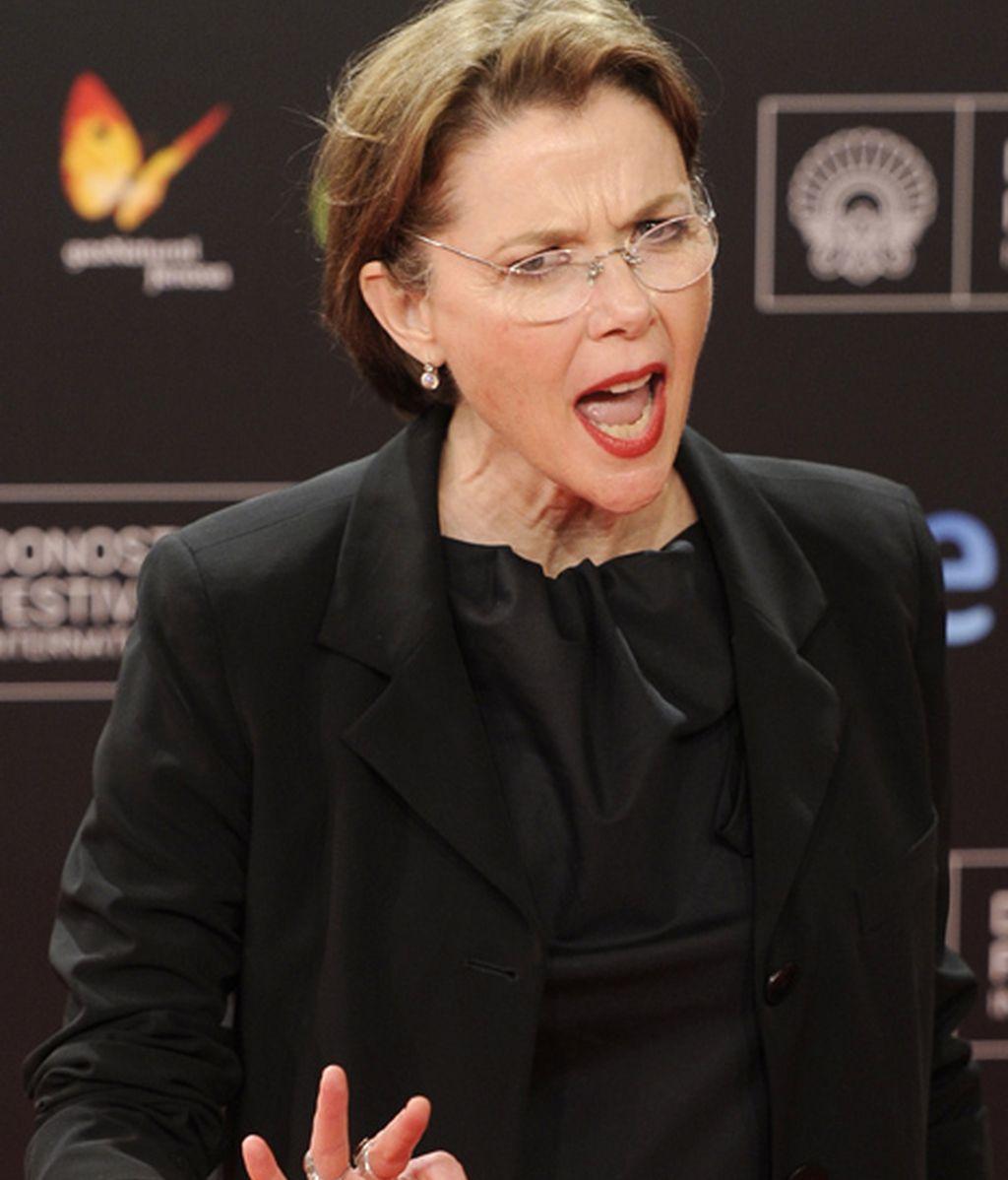 Anette Benning, la estrella internacional de la gala inaugural