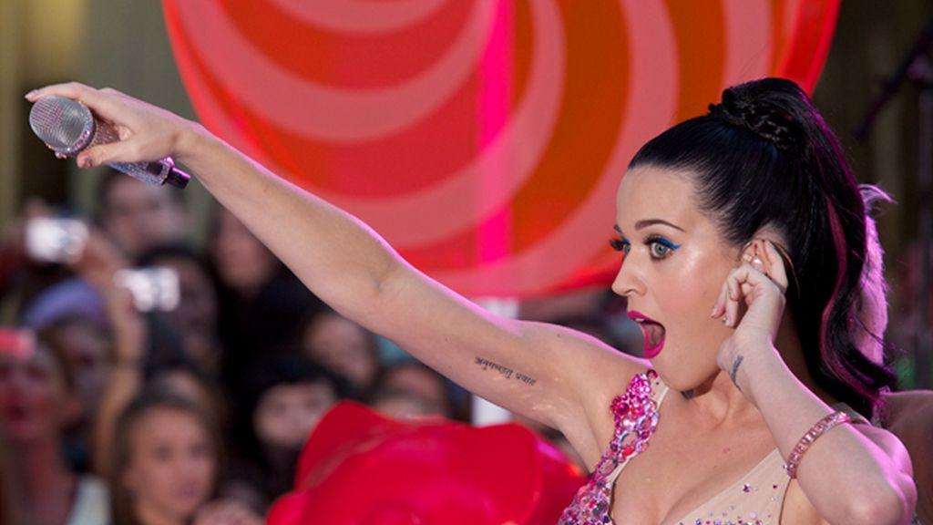 Katy Perry, en las nubes