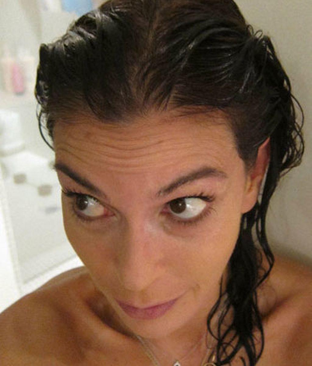 Así es Teri Hatcher cuando sale de la ducha