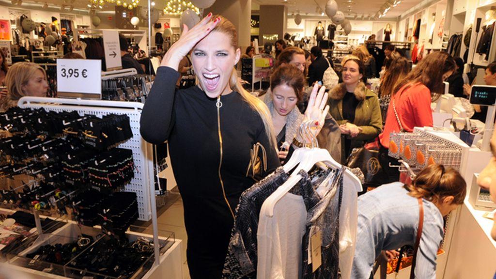 Laura Sánchez enloqueció con la ropa de Isabel Marant para H&M
