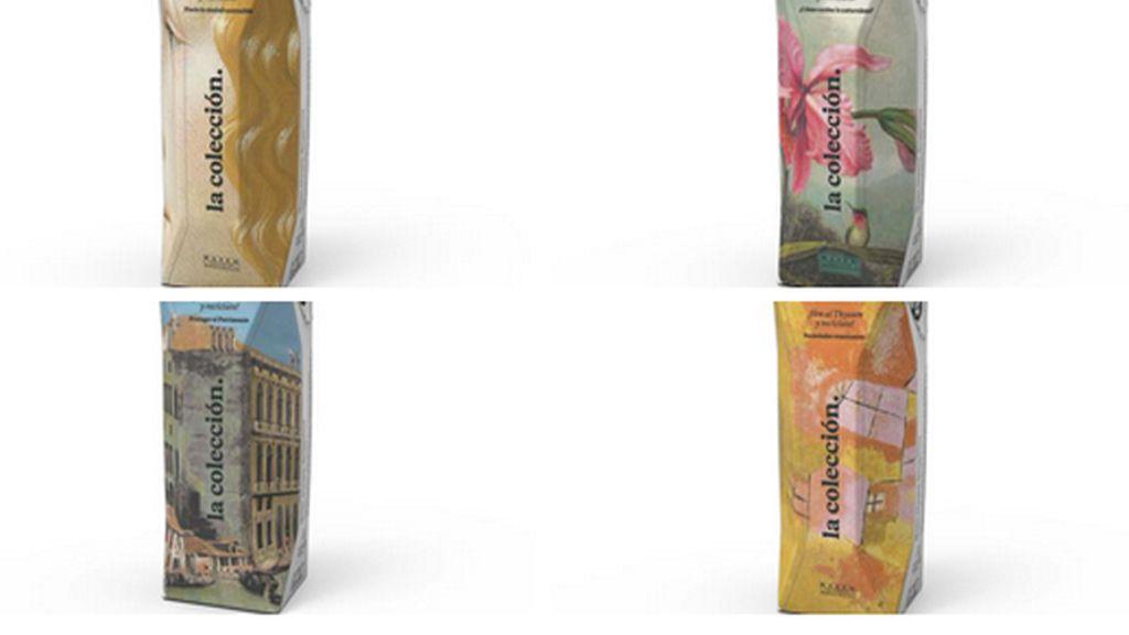 30.000 envases Tetra Pak ilustrados con cuatro obras del Museo Thyssen