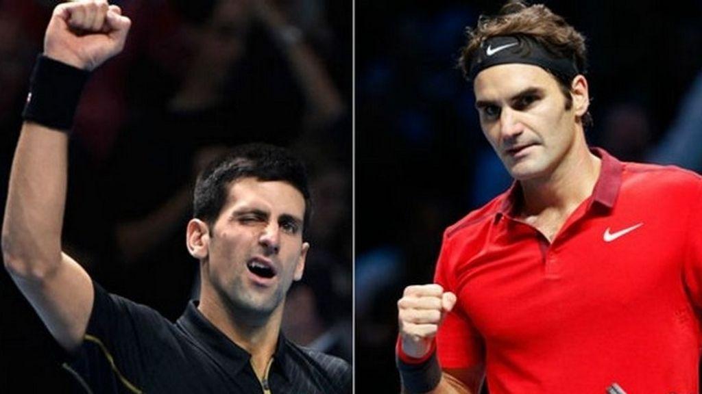 Federer y Djokovic se enfrenta
