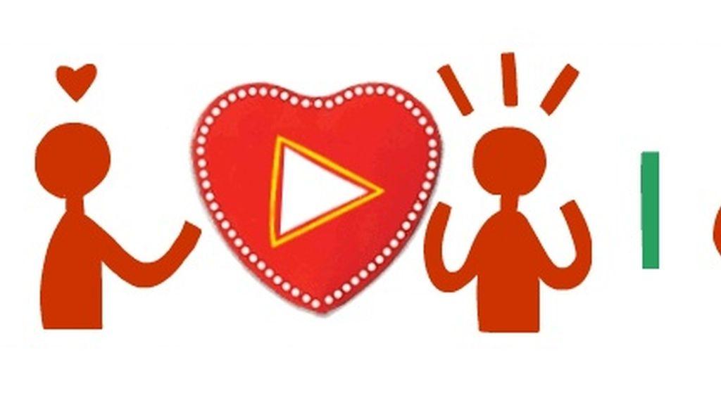 Google celebra San Valentin