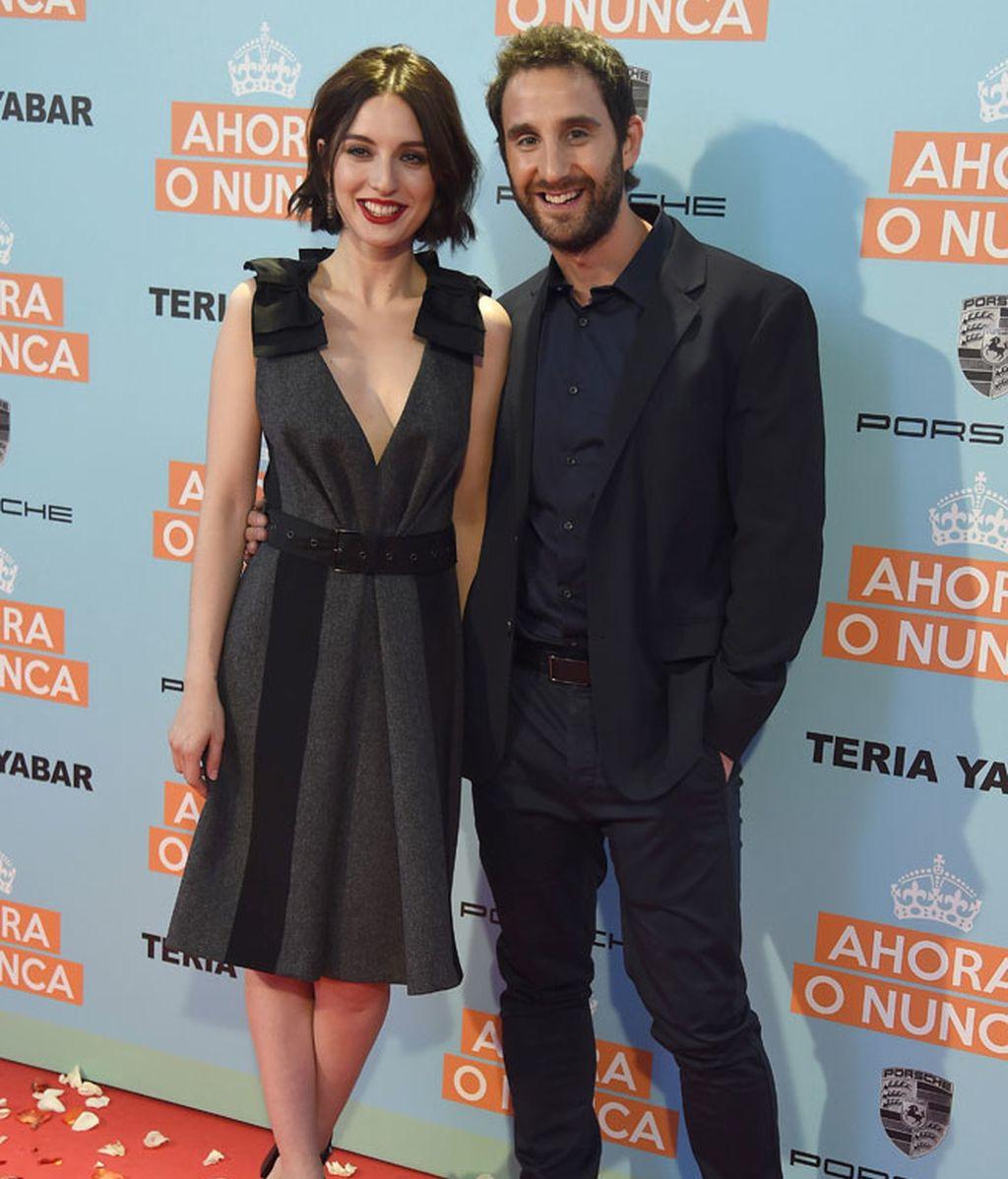 Los protagonistas de la película, María Valverde y Dani Rovira