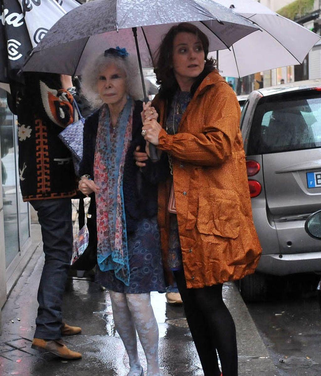 La Duquesa de Alba: incombustible en su Luna de Miel en Paris
