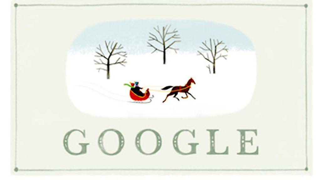 La Navidad en Google