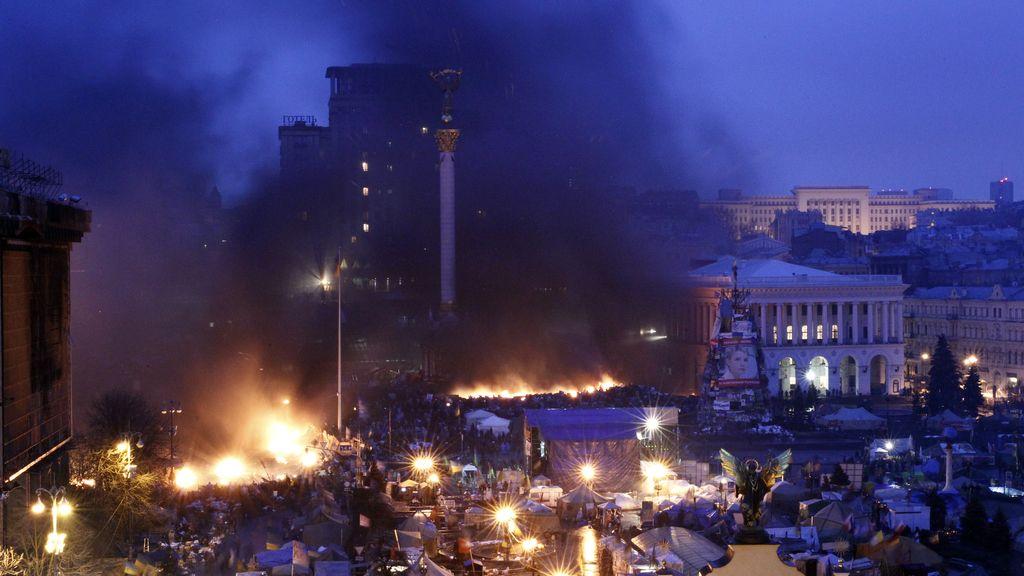 Se rompe la tregua en Kiev