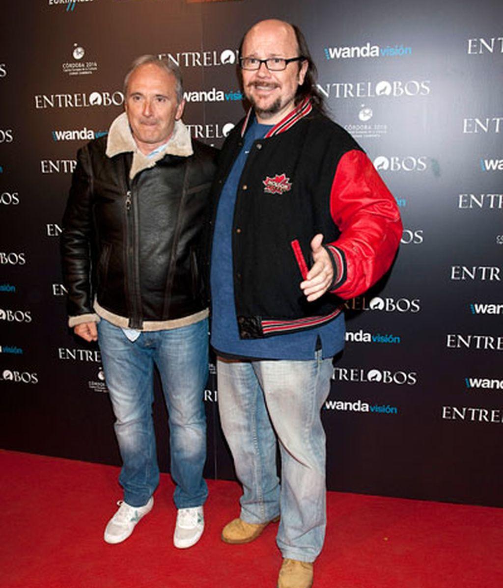 Carlos Bardem y Dafne Fernández, juntos en el preestreno de 'Entre Lobos'