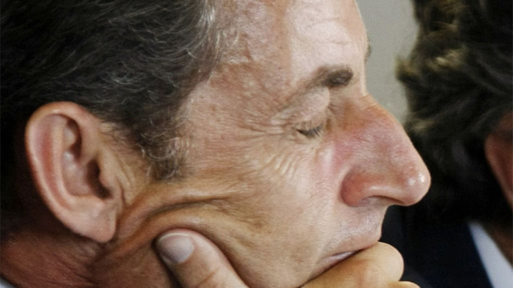 La tristeza de Sarkozy