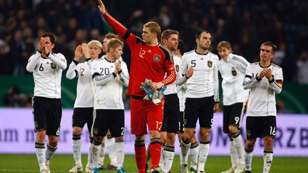 La selección alemana de fútbol