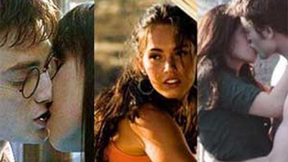 'Harry Potter', 'Transformers 2' y 'Luna Nueva', entre las películas con más erratas del año. Fotografías de archivo.