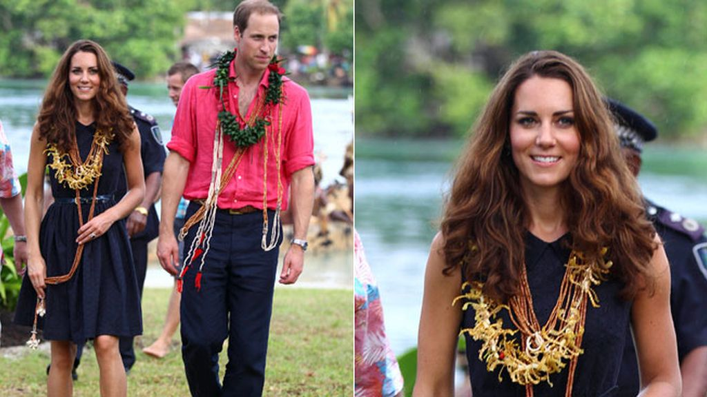 Kate Middleton, del top less al total look tribal