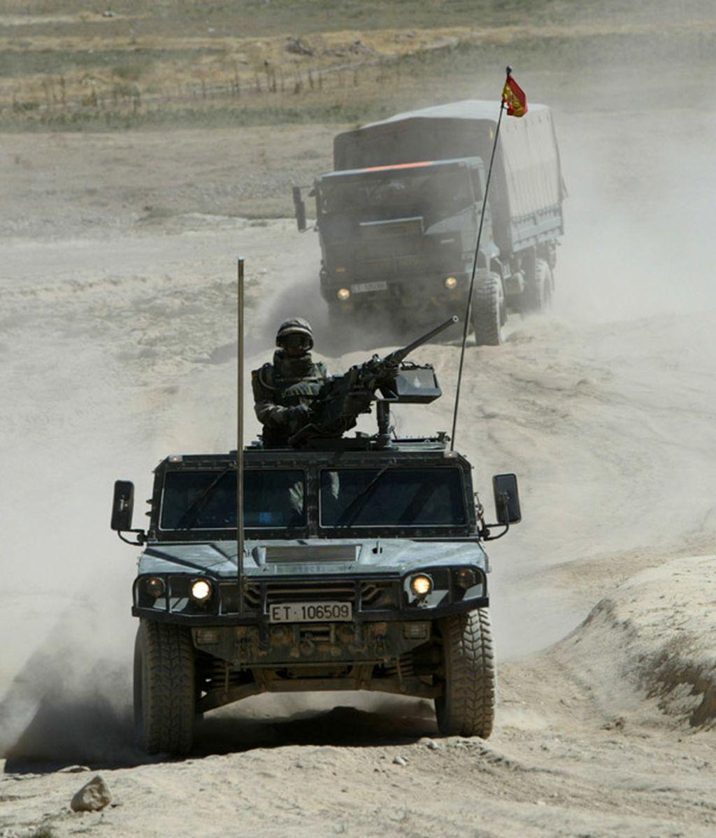 Un convoy español en Herat