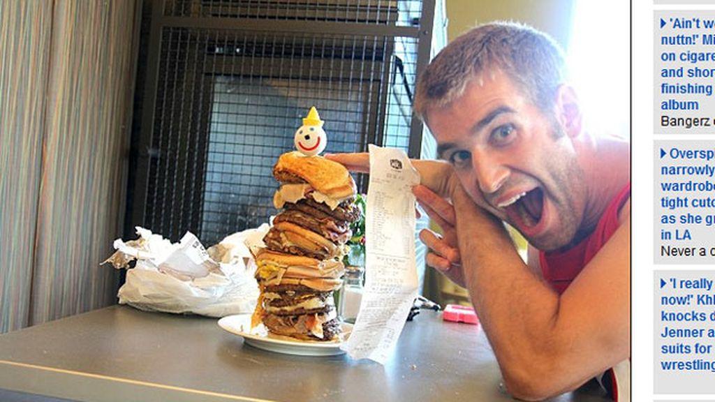 La hamburguesa de 38$ y 9.000 calorías