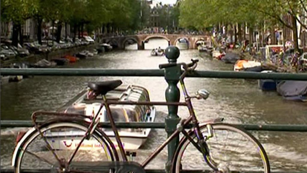 Una bicicleta, uno de los símbolos de Holanda