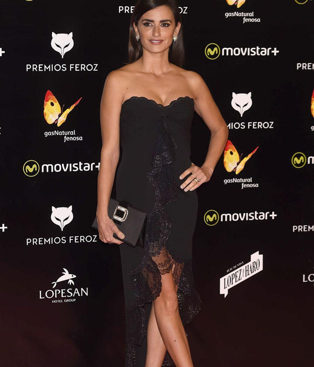 Penélope con vestido Emanuel Ungaro vintage