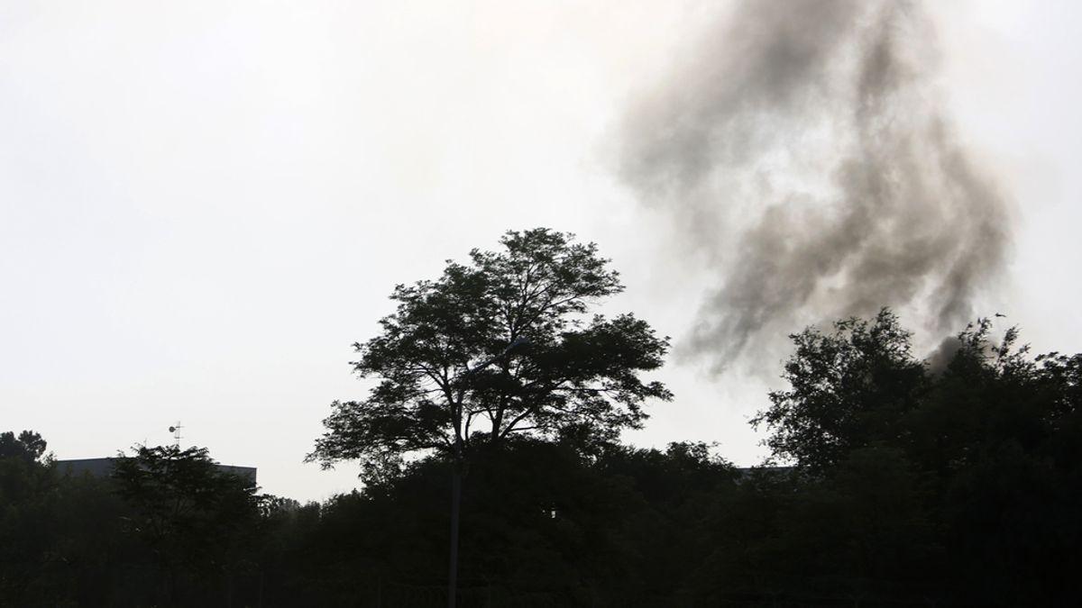 El ataque talibán contra el palacio presidencial de Kabul termina con todos los terroristas muertos